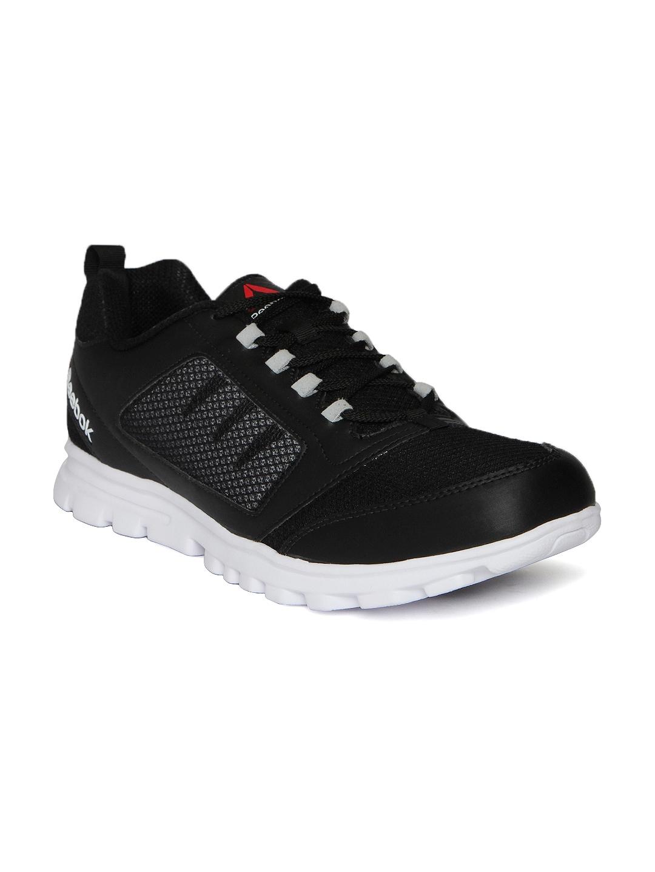 Buy Reebok Men Black Run Stormer Running Shoes - Sports Shoes for ... 48a51954d