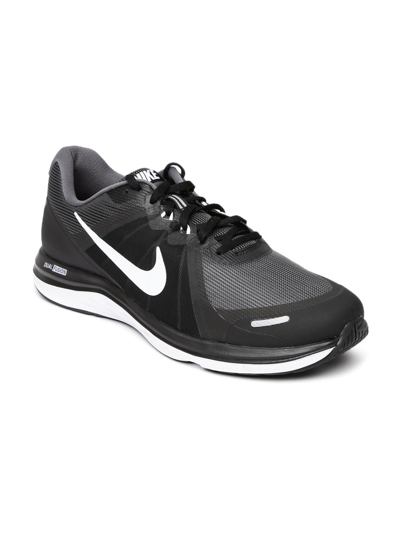 d13cf5c24db Buy Nike Men Charcoal NIKE DUAL FUSION X 2 Running Shoes - Sports Shoes for  Men 1602462