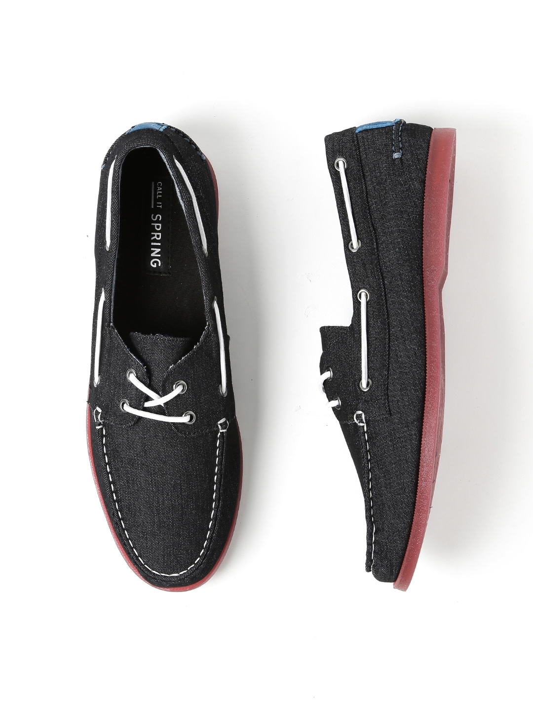 d31950fed Buy Call It Spring Men Black ADDNEY Boat Shoes - Casual Shoes for ...