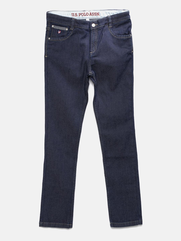 dbb8b215 Buy U.S. Polo Assn. Kids Boys Blue Slim Fit Denim Jeans - Jeans for ...