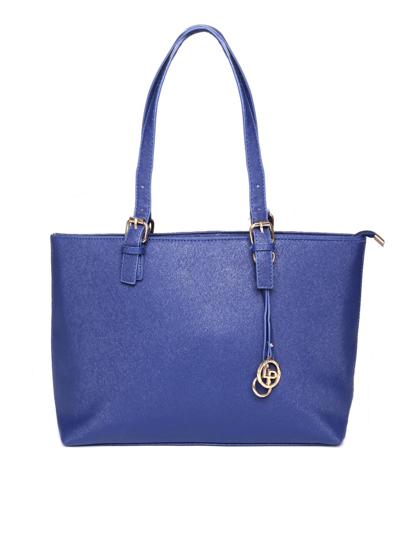 Lino Perros Blue Shoulder Bag