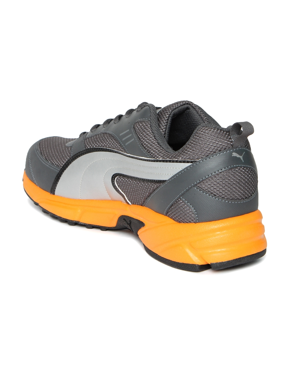 7dbaee82772 Buy Puma Men Charcoal Grey Atom Fashion III DP Running Shoes ...