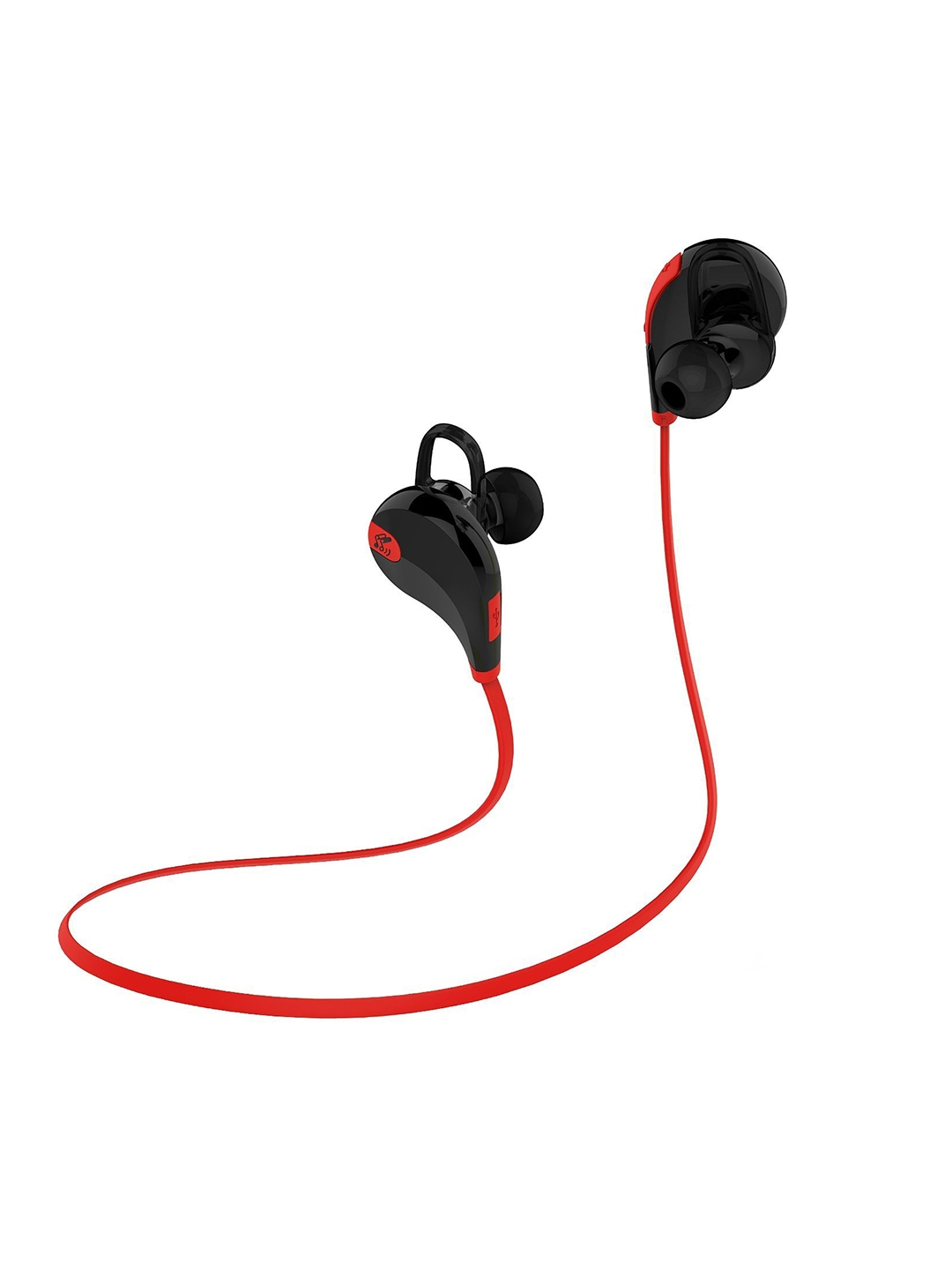 SoundPEATS Red   Black Qy7 Bluetooth 4.0 Wireless Sports Headset with Mic