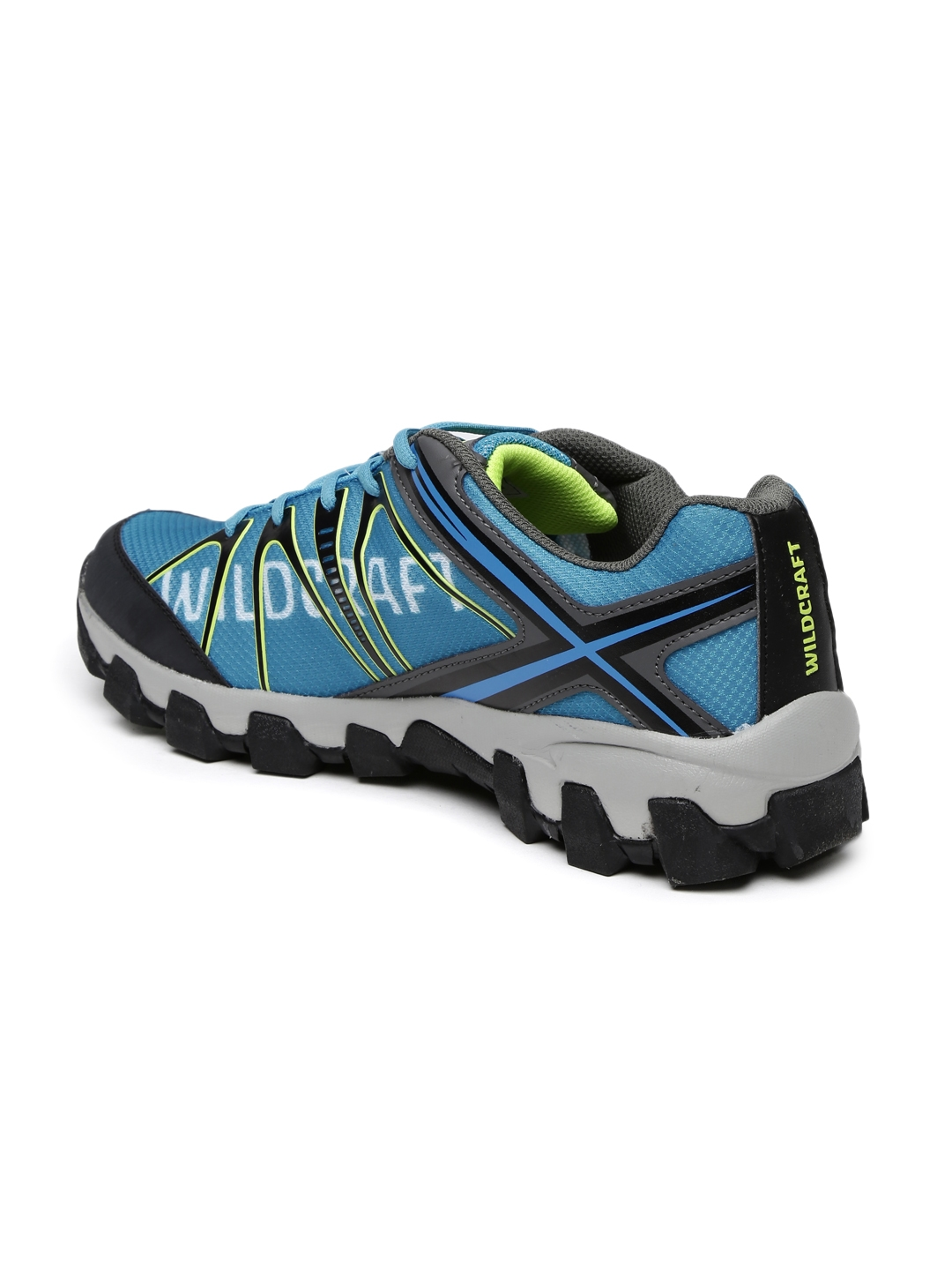 fb1a32ded7c57 Buy Wildcraft Men Blue Printed Orion Blue 11 M Trekking Shoes ...