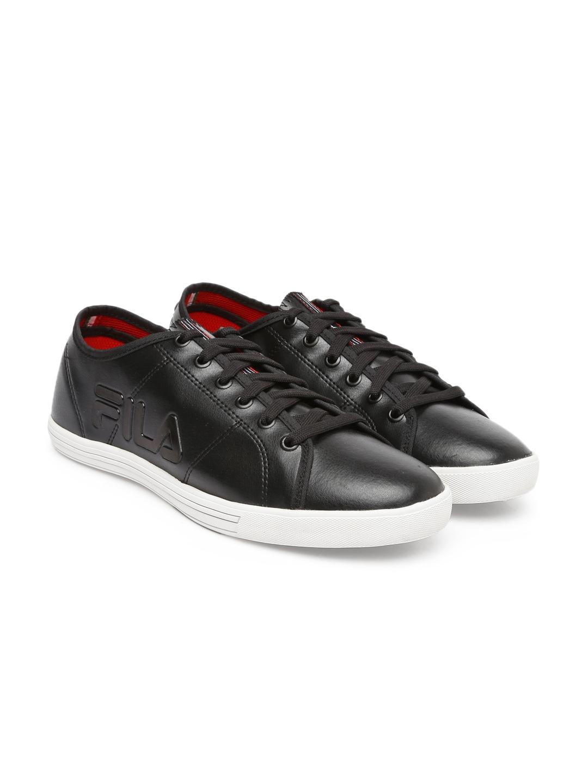 851d751d886a Buy FILA Men Black Solid Pride Sneakers - Casual Shoes for Men ...