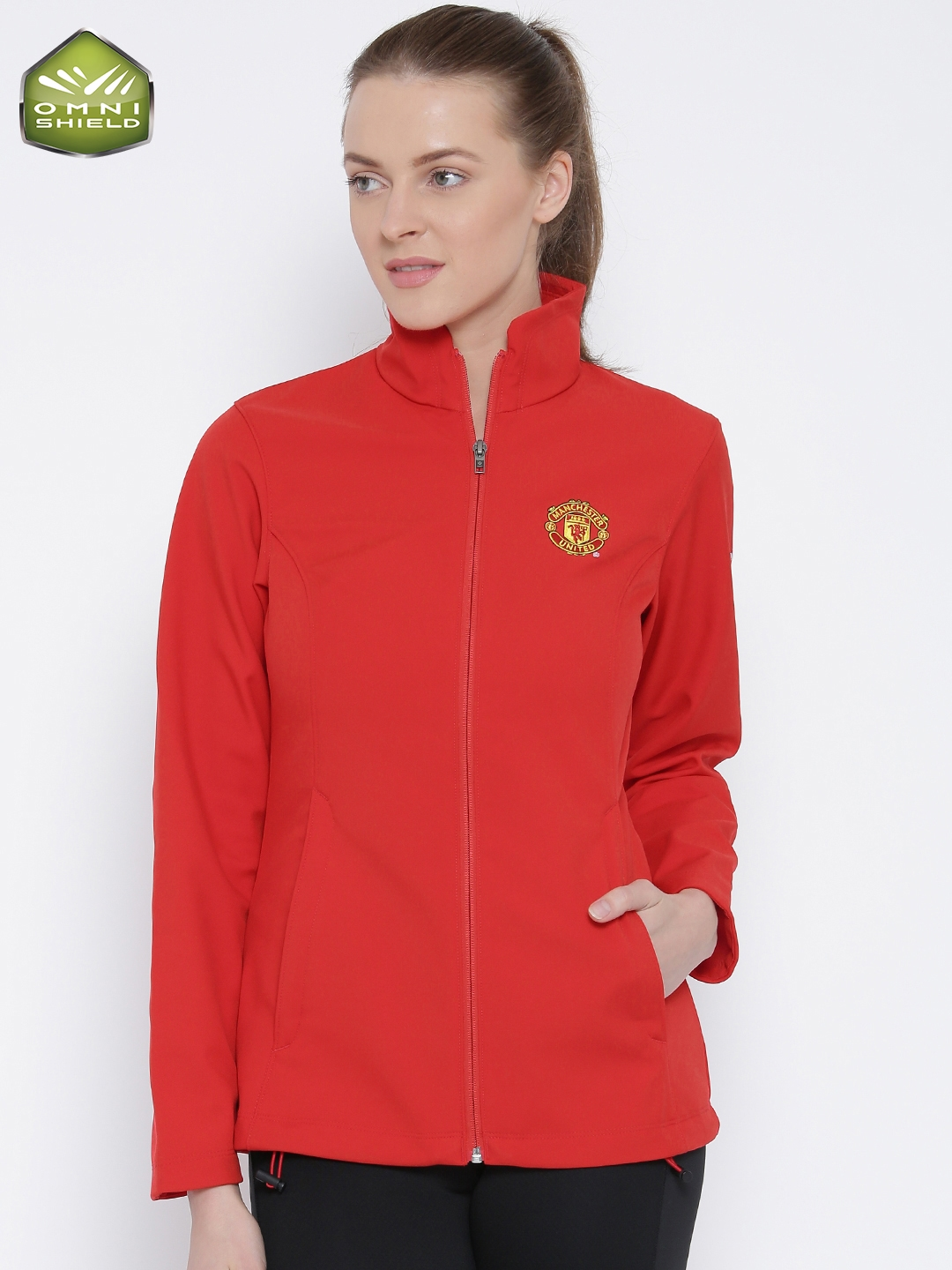 27790e4bc5c1c Buy Columbia Red Kruser Ridge Softshell Manchester United F.C. Wind   Water  Resistant Jacket - Jackets for Women 1620835