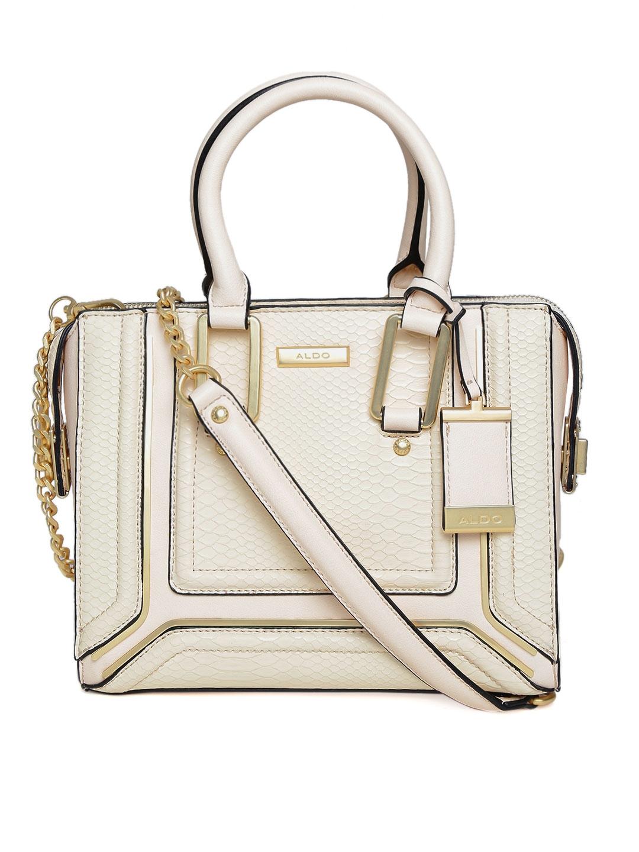 a21f3dddd68 Buy ALDO Cream Coloured Snakeskin Textured Handbag With Sling Strap ...