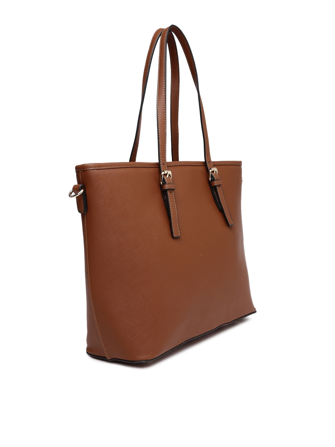 05a69abab2 Buy Mast & Harbour Brown Tote Bag - Handbags for Women 1629740   Myntra