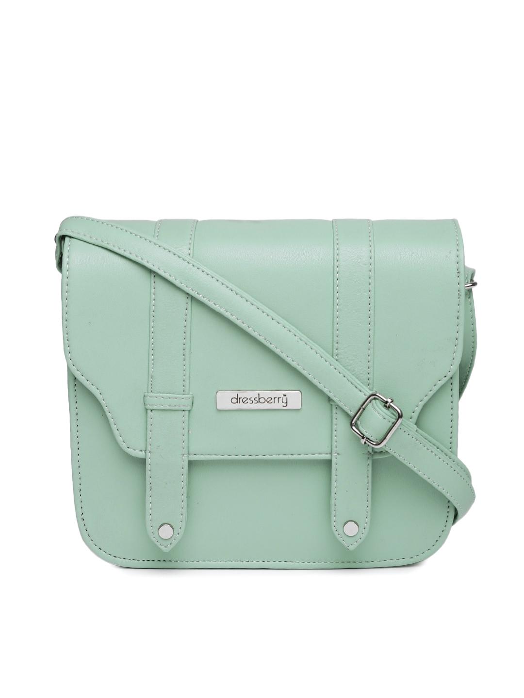 428b354c4a Buy DressBerry Mint Green Sling Bag - Handbags for Women 1638891 ...