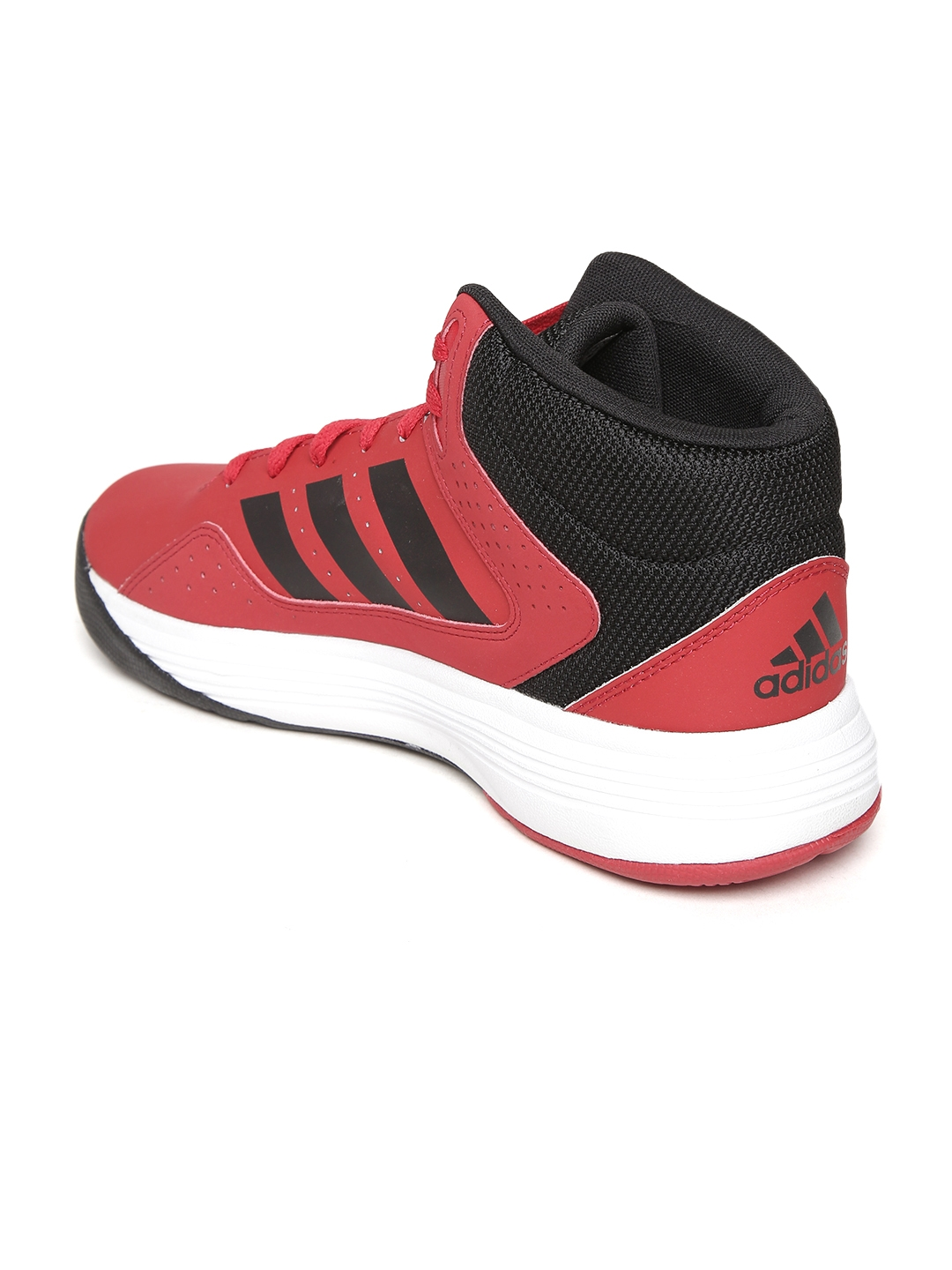 0318978710c Buy ADIDAS NEO Men Red Cloudfoam Ilation Mid Top Basketball Shoes ...