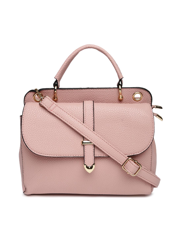 529fa457d04 Buy DressBerry Pink Satchel - Handbags for Women 1642589   Myntra