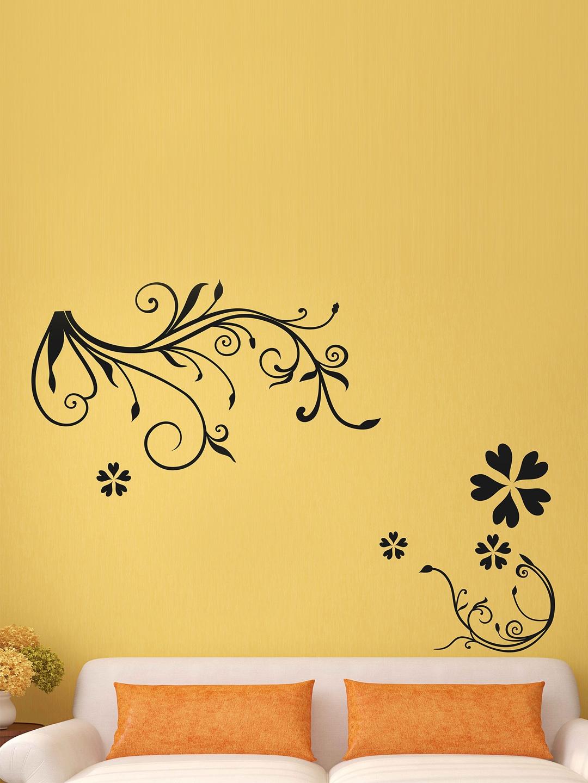 Buy Aspire Black Bedroom Design Art Wall Sticker - Decals And ...