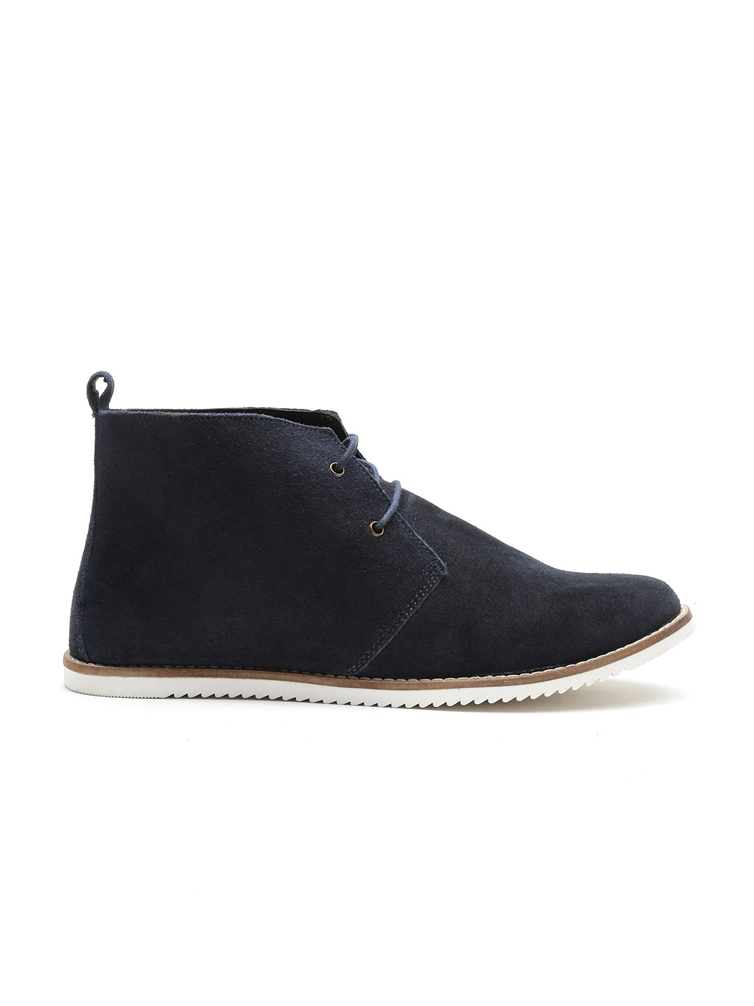 320fc593ff4c3 Buy Carlton London Women Navy Mid Top Flat Boots - Casual Shoes for ...