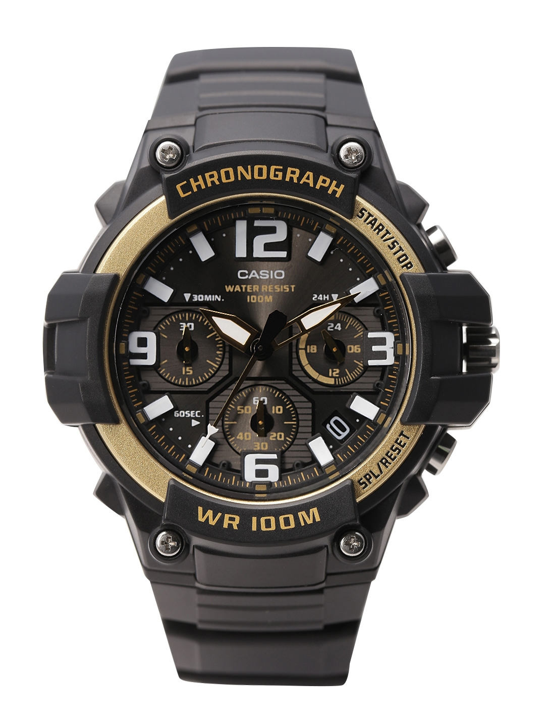 Casio Youth Analog Men Black Analogue watch AD215 MCW 100H 9A2VDF