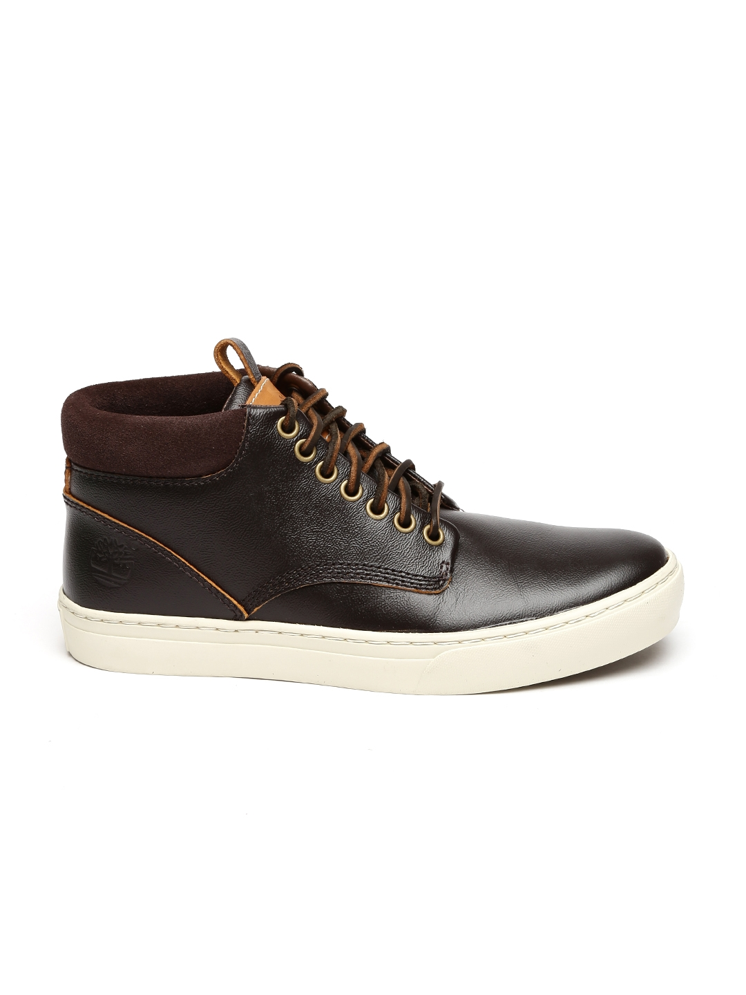 34ce1c7ee514 Buy Timberland Men Brown Solid Leather Adv 2.0 Sneakers - Casual ...