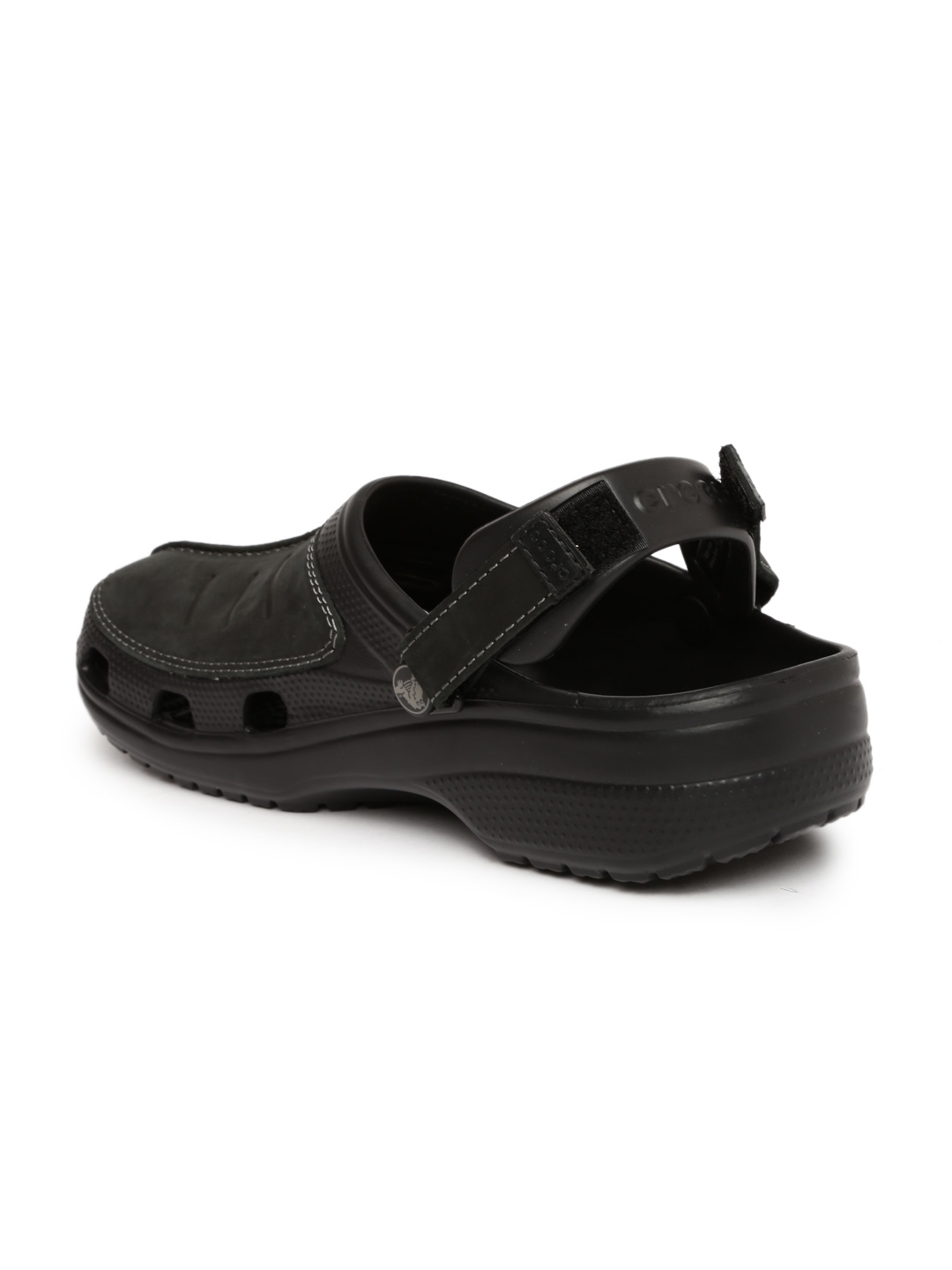 41695b9ff5f4 Buy Crocs Men Black Yukon Mesa Clogs - Flip Flops for Men 1658945 ...