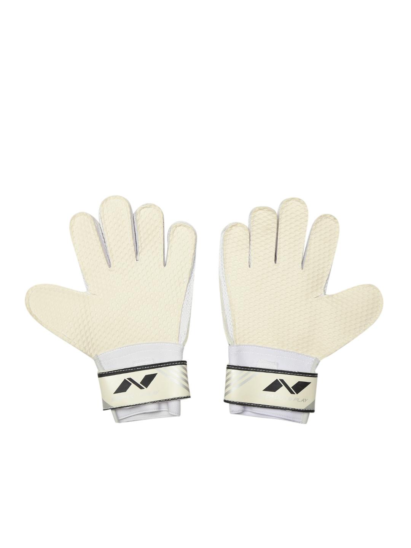974e294b223 Buy NIVIA Unisex Grey Printed Armour Goal Keeper Football Gloves ...
