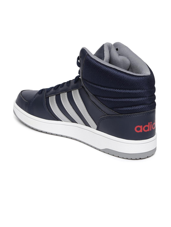 2791be63dd3 Buy ADIDAS NEO Men Navy Solid Hoops VS Mid Top Sneakers - Casual ...