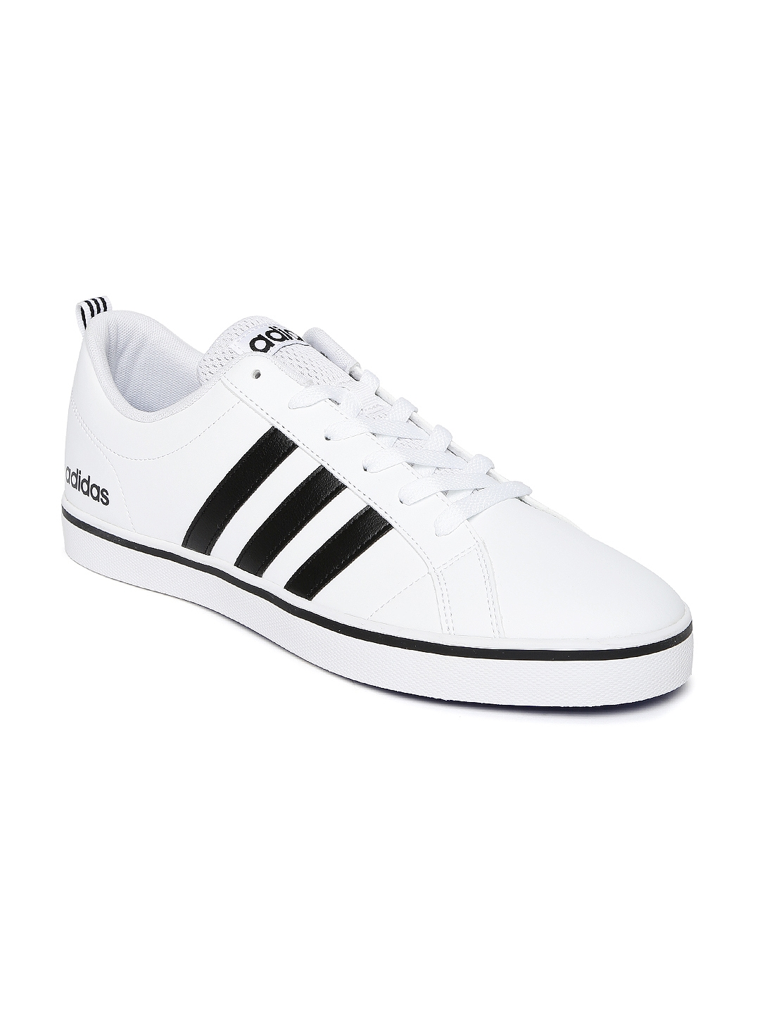 b2698060eacbd8 Buy ADIDAS NEO Men White Solid Pace VS Sneakers - Casual Shoes for Men  1668467