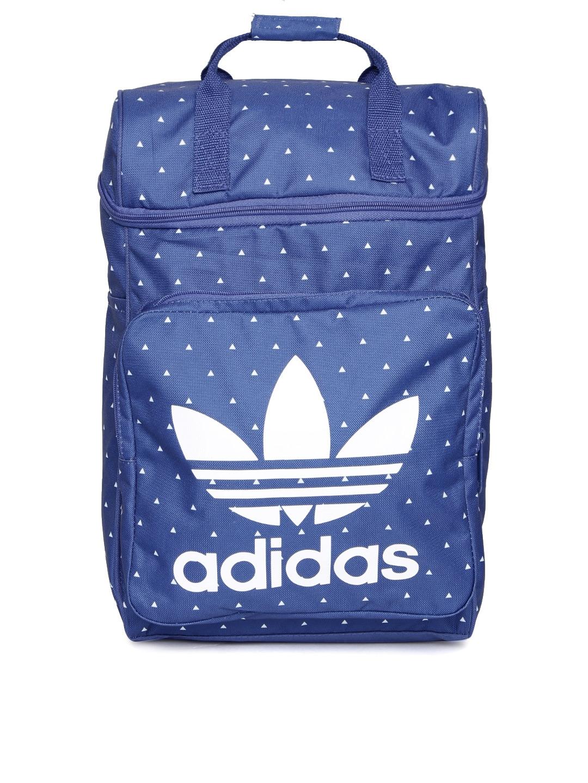 b2733271d449 Buy ADIDAS Originals Men Blue Pharrell Williams HU CLASS Printed Laptop  Backpack - Backpacks for Men 1668795