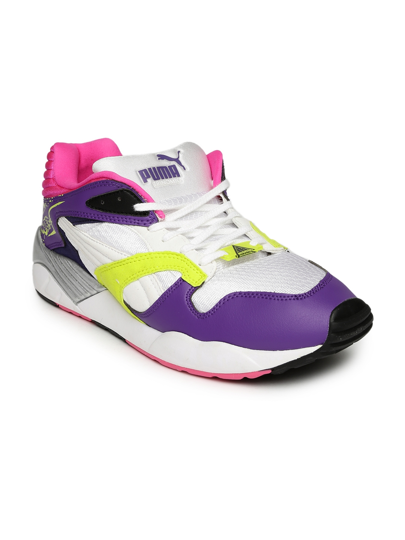 ebda07ddc1e Buy Puma Men Purple   White Trinomic XS 850 Plus Sneakers - Casual ...