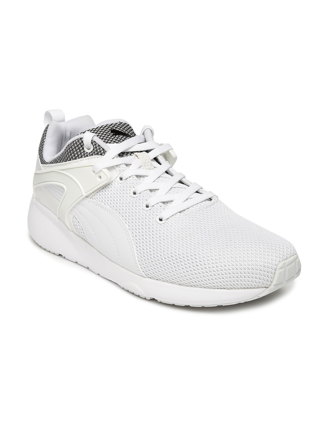 2e9391bf0502 Buy Puma Men Off White Solid Aril Blaze Sneakers - Casual Shoes for ...