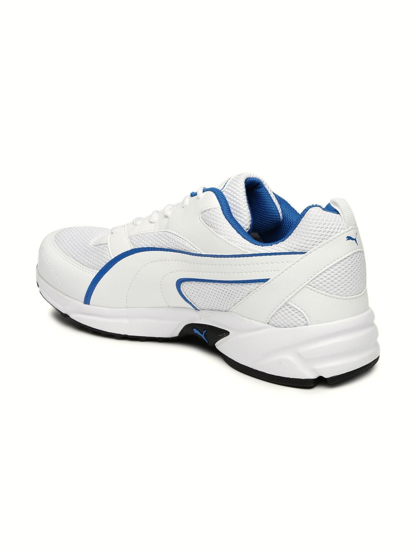 6016d4615e8e73 Buy Puma Men White Atom III DP Running Shoes - Sports Shoes for Men ...