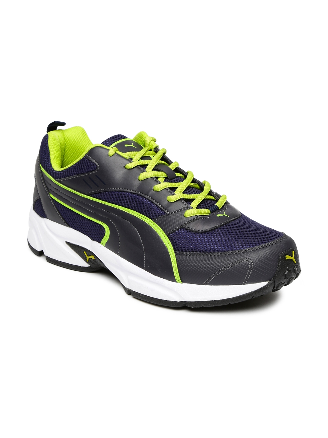 a94839e7fc6 Buy Puma Men Navy   Black Atom III DP Running Shoes - Sports Shoes ...