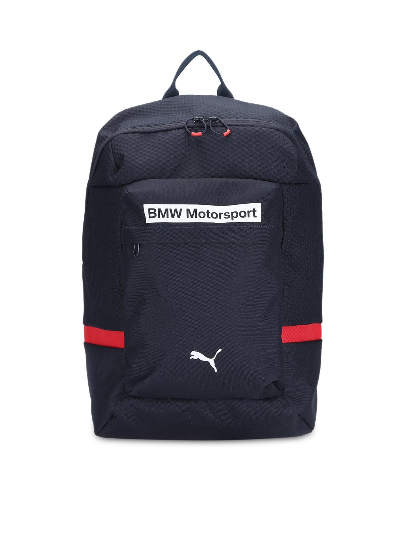 66cdaf49c51d Buy PUMA Unisex Blue BMW Motorsport Backpack - Backpacks for Unisex ...