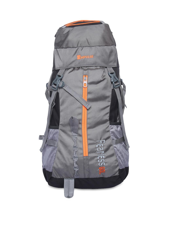ac3c640a11 Buy Impulse Unisex Grey 65 Litres Rucksack - Rucksacks for Unisex ...