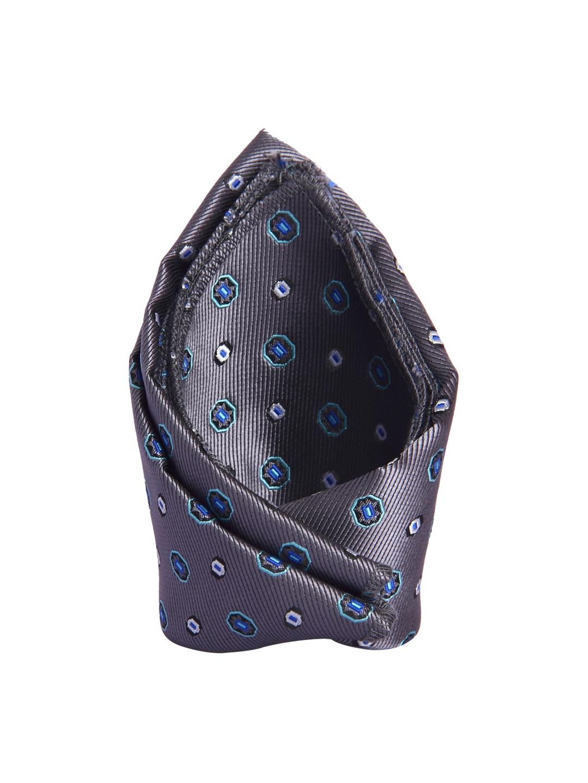 41cc9d8a9236 Buy Tossido Grey Patterned Pocket Square - Pocket Squares for Men ...