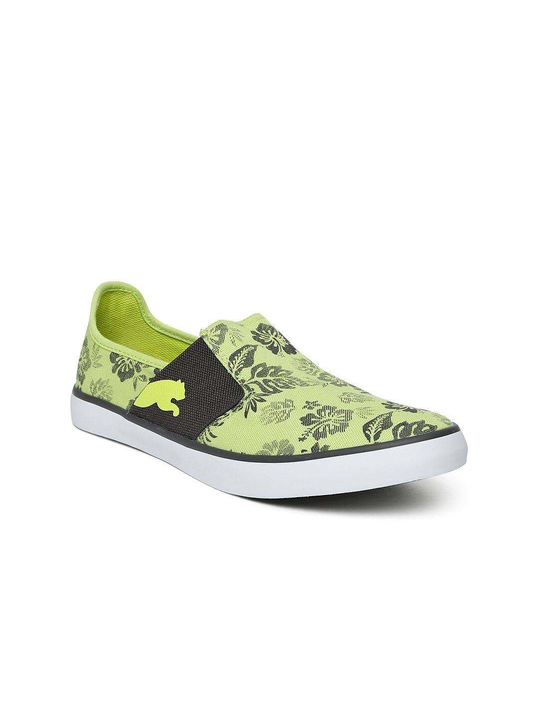 PUMA Women Lime Green NU Ballet DP Printed Casual Shoes
