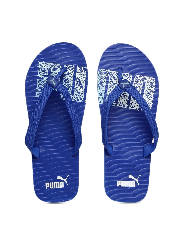 8af981be0c6f8 Buy PUMA Unisex Blue Miami NG DP Printed Flip Flops - Flip Flops for ...
