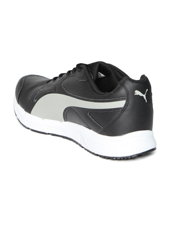 c1710abc7d77 Buy PUMA Men Black   Grey Axis V4 SL IDP Running Shoes - Sports ...