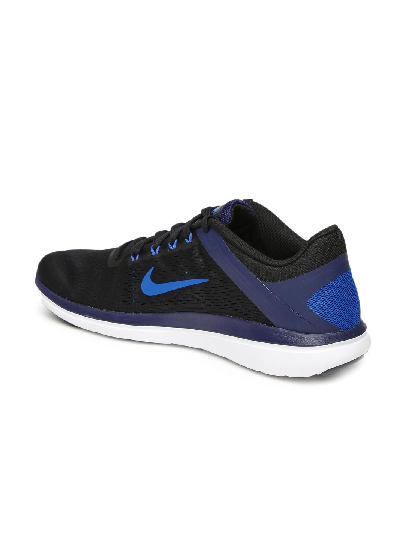 95c7ad9f61043 Buy Nike Men Black Flex 2016 RN Running Shoes - Sports Shoes for Men  1719367