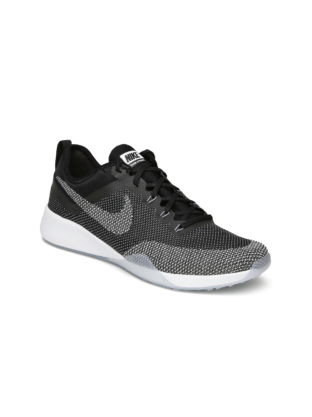 7e98e4f7e02 Buy Nike Women Black NIKE AIR ZOOM TR DYNAMIC Training Shoes ...