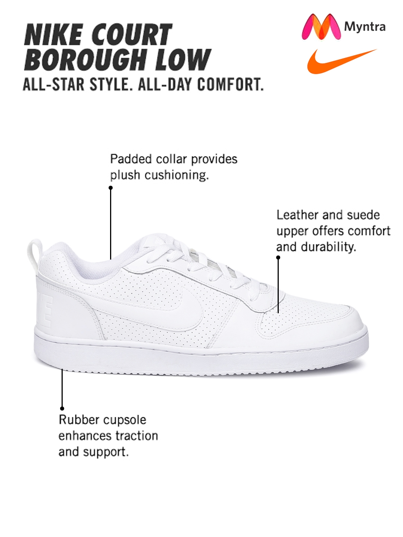 best service 4c5bb 965d4 Men s Nike Court Borough Low Shoe