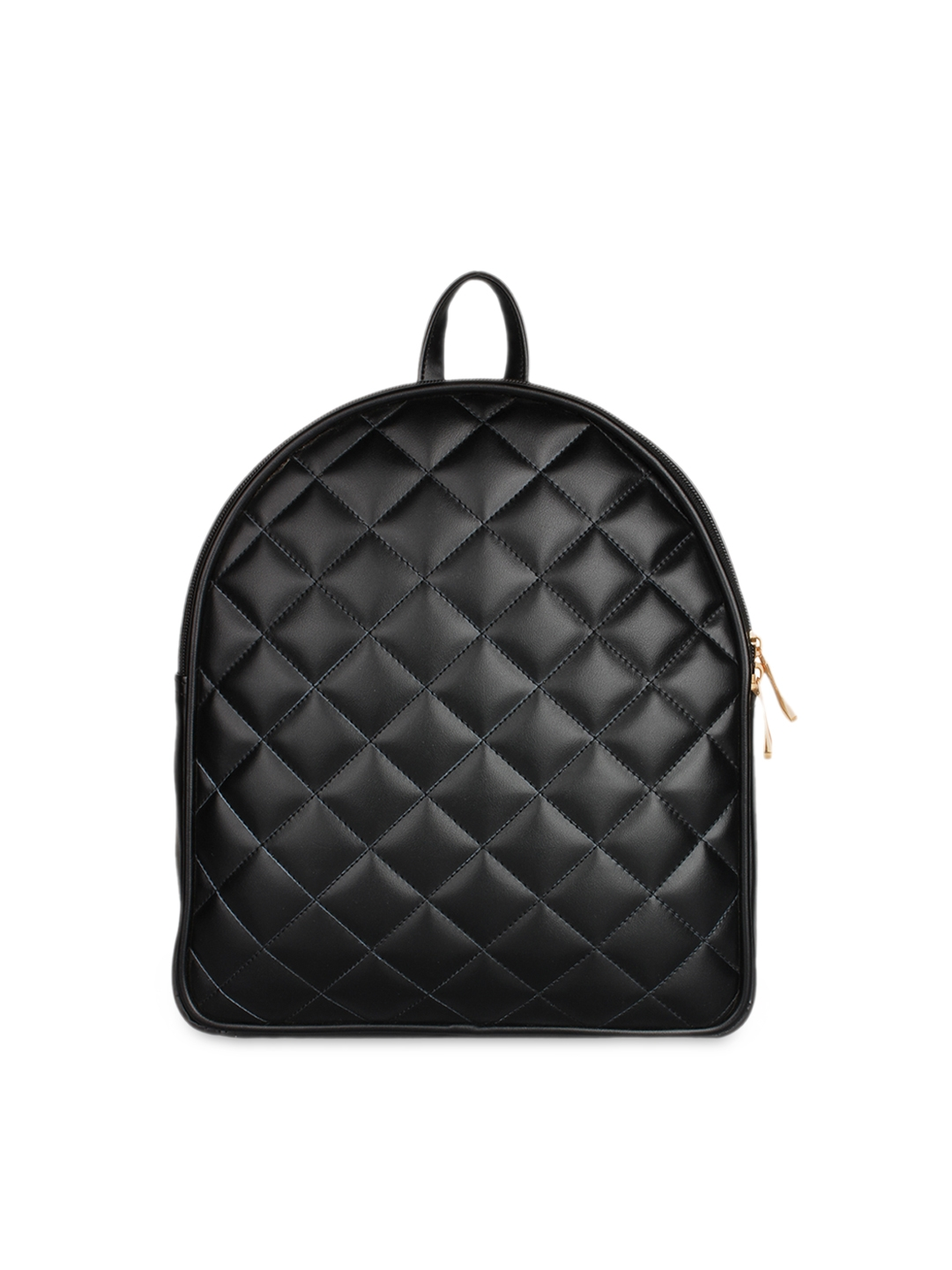 70f197570 Buy Berrypeckers Women Black Quilted Backpack - Backpacks for Women ...
