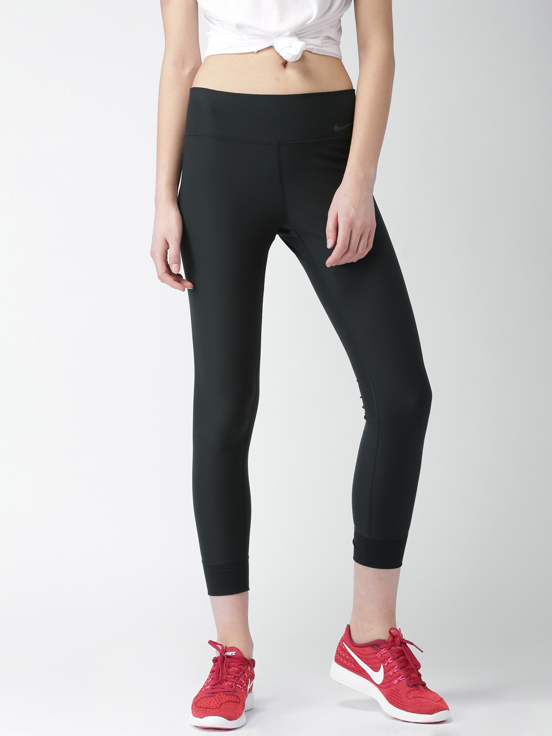 3d4c0e1595502 Buy Nike Women Black Tight Fit AS W NK PWR LGND Tights - Tights for ...