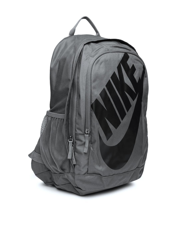 Buy Nike Unisex Charcoal Grey Hayward Futura 2.0 Printed Backpack ... 2d766aaf8a