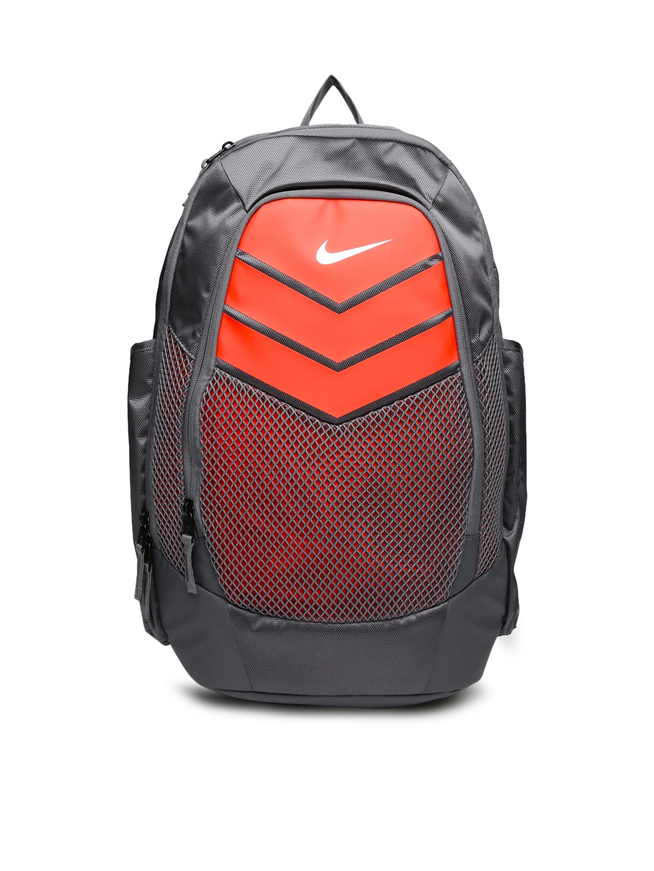 Buy Nike Unisex Grey   Orange Vapor Power Colourblocked Training Backpack -  Backpacks for Unisex 1723869  1376237a064e9