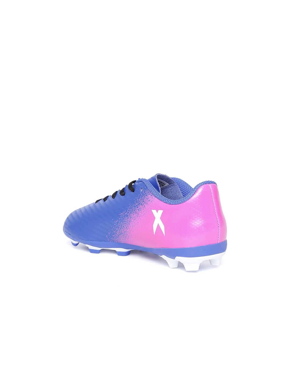 Buy ADIDAS Boys Blue X 16.4 FXG J Printed Football Shoes - Sports ... 213bfa6c36