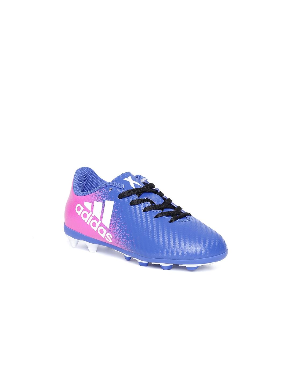ADIDAS Boys Blue X 16.4 FXG J Printed Football Shoes