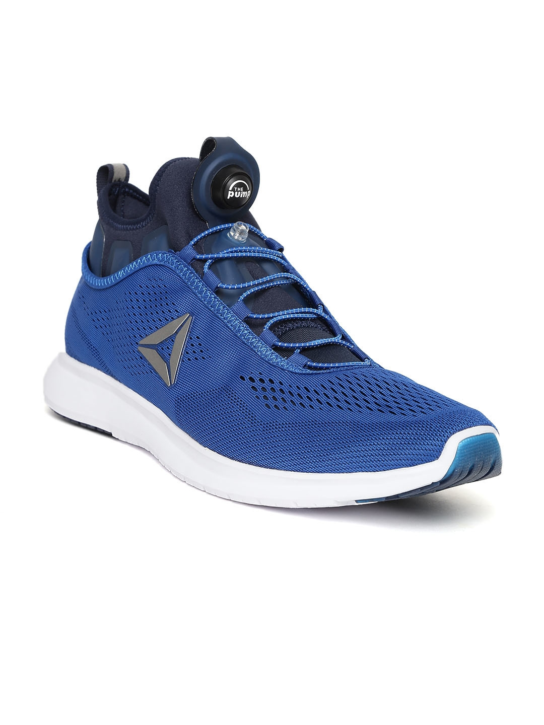1a5ca8794c04ad Buy Reebok Men Blue Pump Plus Tech Running Shoes - Sports Shoes for ...
