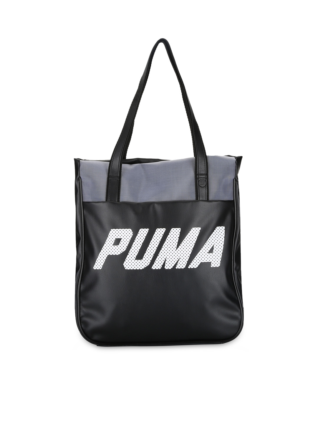 2ae760564ef6 Buy PUMA Black Printed Tote Bag - Handbags for Women 1728699
