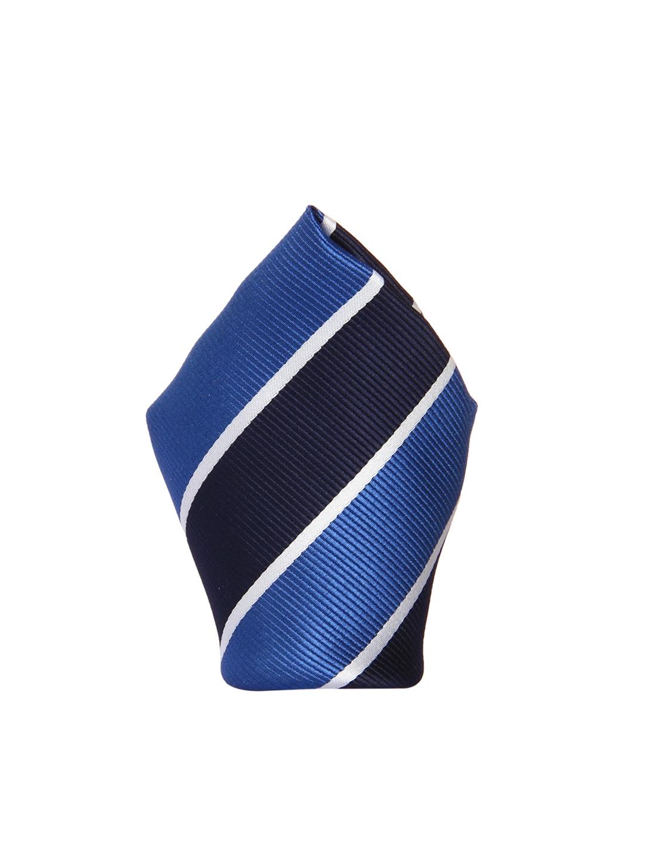 7d751a7ce1c0 Buy Tossido Blue Striped Pocket Square - Pocket Squares for Men ...