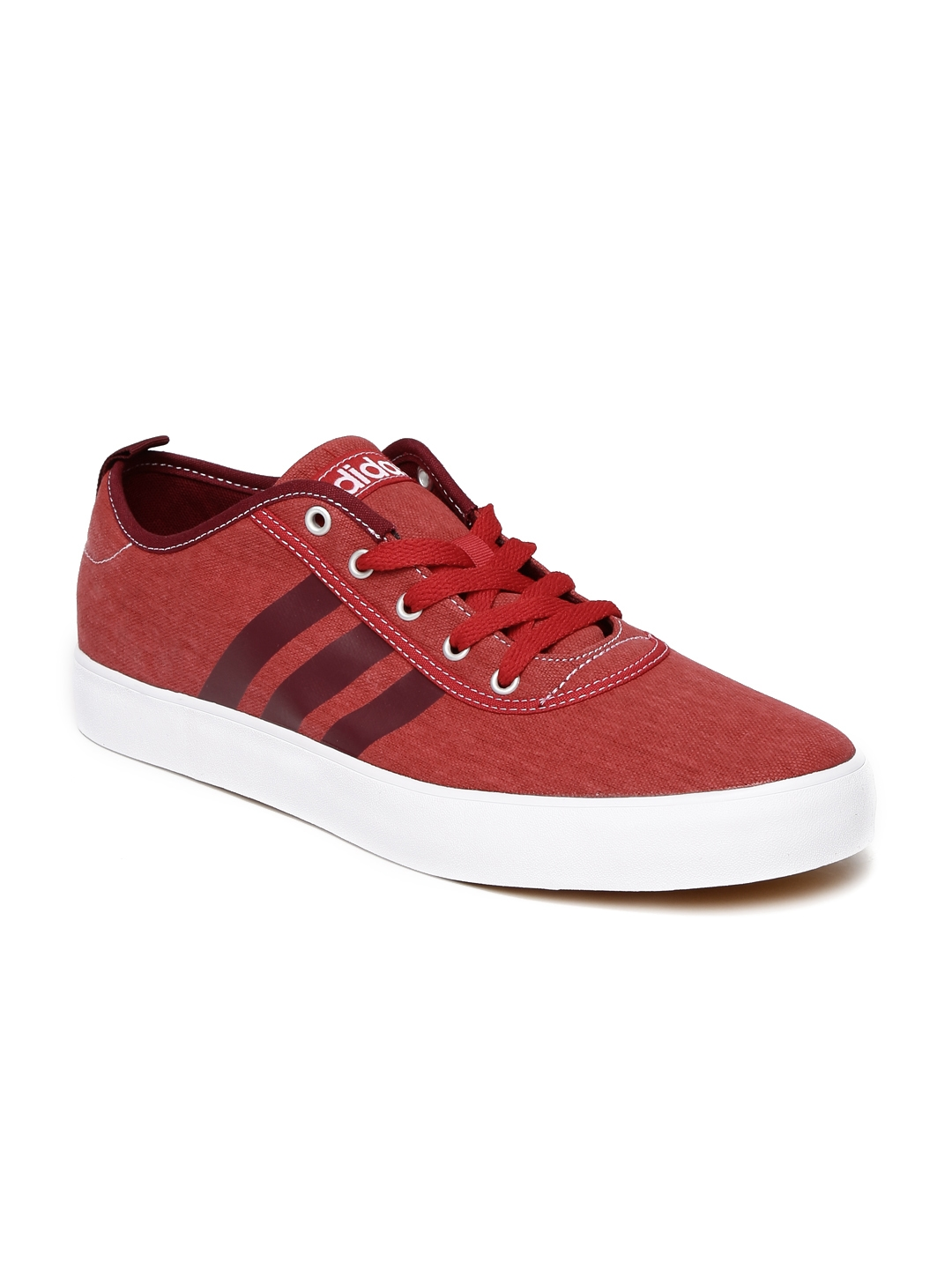 Adidas NEO Men Red Neosole Sneakers