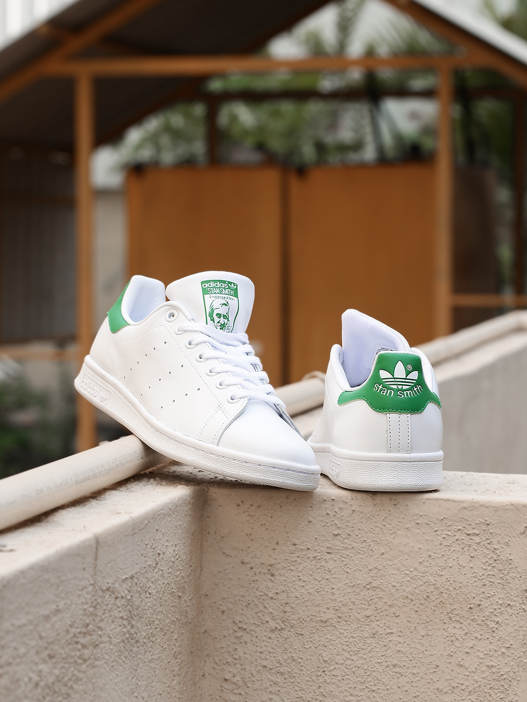 Buy ADIDAS Originals Women White Leather Stan Smith Sneakers ... 72c7328aefe