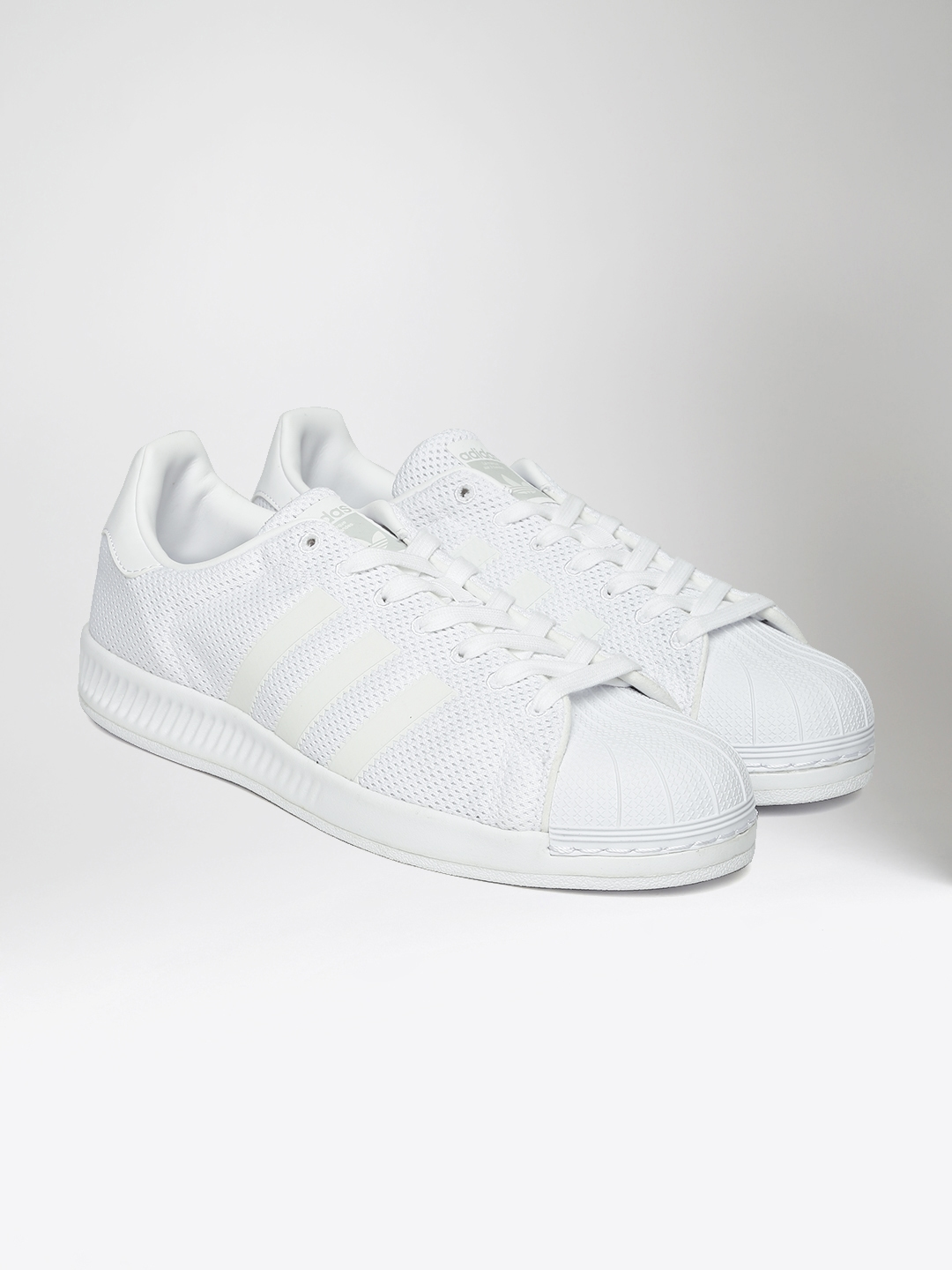 d6b3ac945c05f Buy ADIDAS Originals Men White SUPERSTAR BOUNCE Sneakers - Casual ...