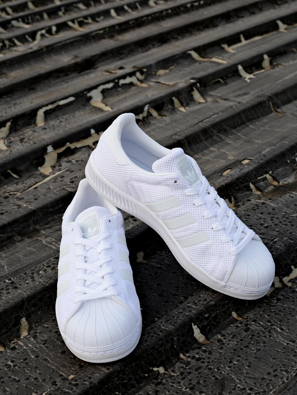 183c324d08750 Buy ADIDAS Originals Men White SUPERSTAR BOUNCE Sneakers - Casual ...